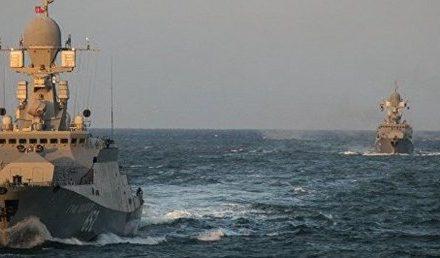 Rus savaş gemileri Akdeniz'e ulaştı