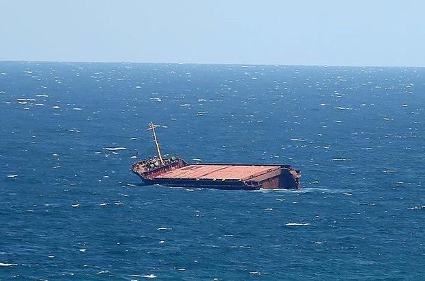Türk Bandıralı Yük Gemisi Hırvatistan'da Batıyor.