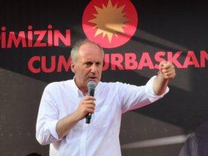 Muharrem İnce İzmir mitinginde konuştu