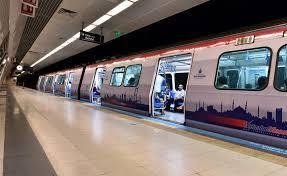 O metro hattı bu tarihler arasında hizmet vermeyecek