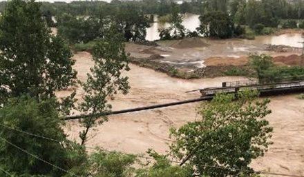 Ordu'da sel köprüleri yıktı (Karadeniz Sahil Yolu kapandı)
