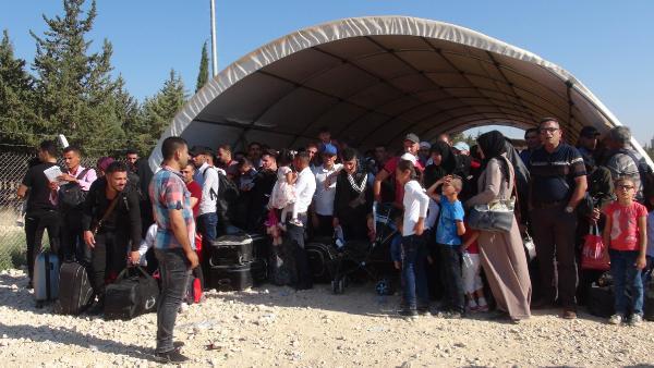 30 bini aşkın Suriyeli, bayram için ülkesine gitti