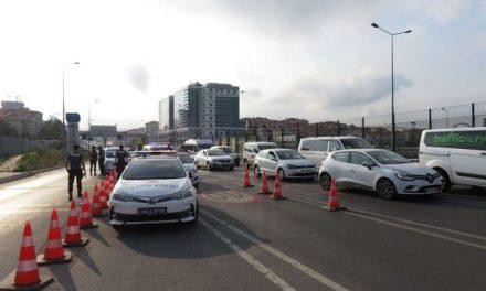 Avrasya Tüneli girişinde kaza