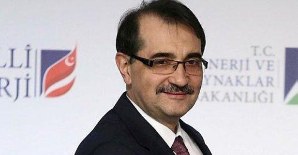 Enerji Bakanı Dönmez'den flaş açıklamalar