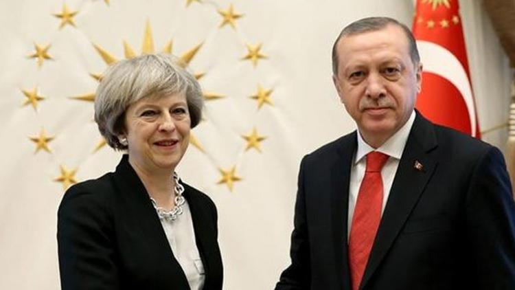 Erdoğan ile May'in görüşmesinde flaş karar