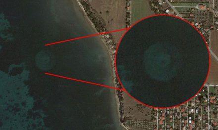 Google Earth ile Yunanistan'da 'tanımlanamayan cisim' bulundu