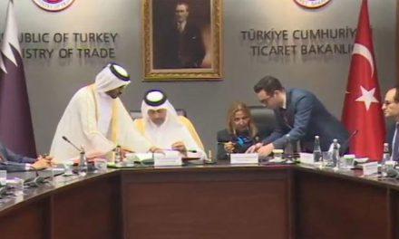 Türkiye ile Katar arasında imzalar atıldı
