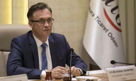Belarus Ankara Büyükelçisi Savinykh: Türkiye ve Belarus Ticarette Kendi Para Birimlerine Geçmek İstiyor