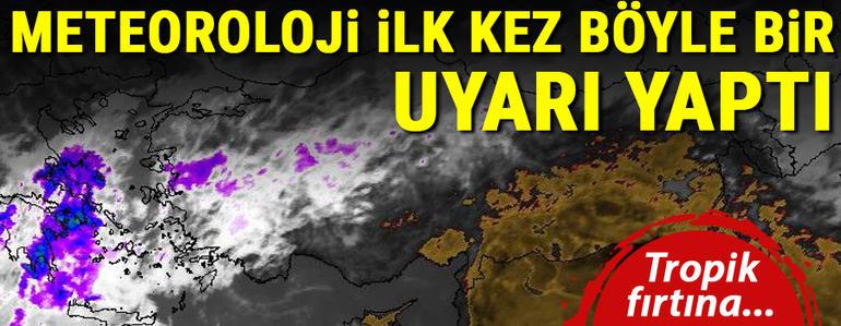Prof. Dr. Mikdat Kadıoğlu anlattı… Tropik fırtınadan etkilenecek şehirlerde yaşayanlar ne yapmalı?