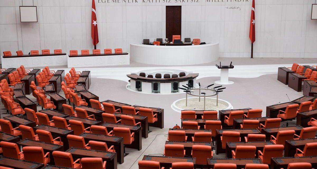Cumhurbaşkanı Erdoğan ile MHP lideri Bahçeli Meclis'te görüşüyor