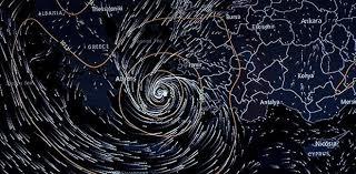 Tropik fırtına yön değiştiriyor: Çanakkale ve Bozcaada'da şiddetli rüzgar bekleniyor