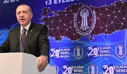 Cumhurbaşkanı Erdoğan: Faiz konusundaki hassasiyetim değişmedi