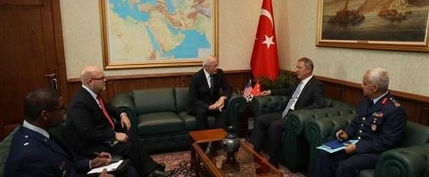 Hulusi Akar, ABD'nin Suriye temsilcisi Jeffrey ile görüştü