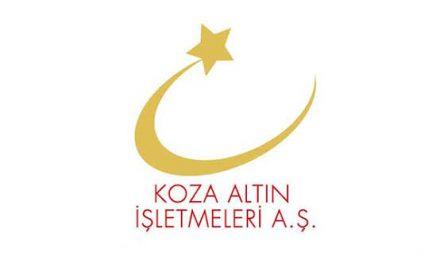 KOZA ALTINA 152.390.727 TL TEŞVİK