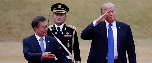 Güney Kore'den Trump'a tepki