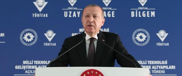 Cumhurbaşkanı Erdoğan'dan, milli hava savunma sistemi açıklaması