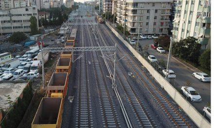 5 yıllık banliyö treni hasretinin bitmesine 2 ay kaldı