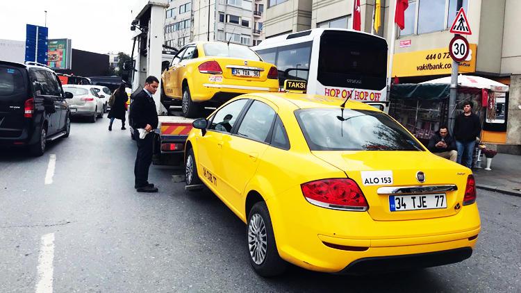 İstanbul'da şok operasyon! 120 taksi her yerde aranıyor…