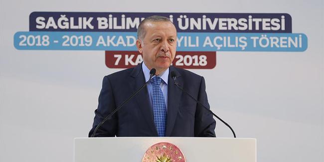 Cumhurbaşkanı Erdoğan tarih verdi: Aralık sonunda açacağız
