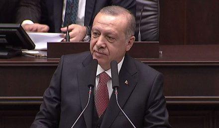 Erdoğan grup toplantısında konuşuyor (CANLI)