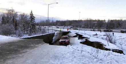 Alaska'da 7 büyüklüğünde deprem