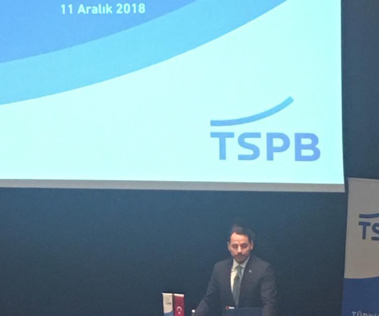 Hazine ve Maliye Bakanı Berat Albayrak,  Türkiye Sermaye Piyasaları Birliği'nin 20. Olağan Genel Kurulu'nda konuştu.
