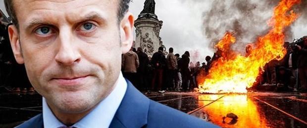 Macron işçi ve memurlarla bir araya gelecek