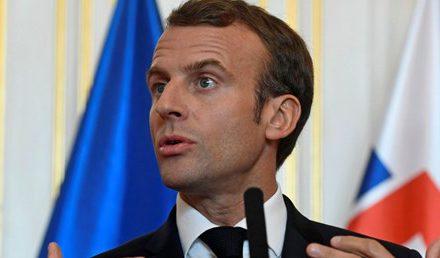Macron: Trump'ın Suriye'den çekilme kararından derin üzüntü duyuyorum…