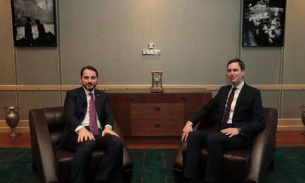 Bakan Albayrak: Kushner ile ekonomik iş birliğini görüştük