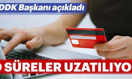BDDK Başkanı açıkladı: Kredi kartı, ihtiyaç ve taşıt kredileri…