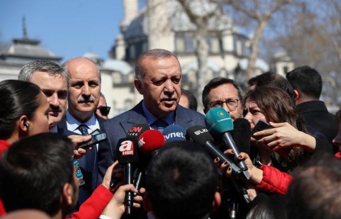 Erdoğan: Meclis çoğunluğu yoksa bütçe çıkartamaz
