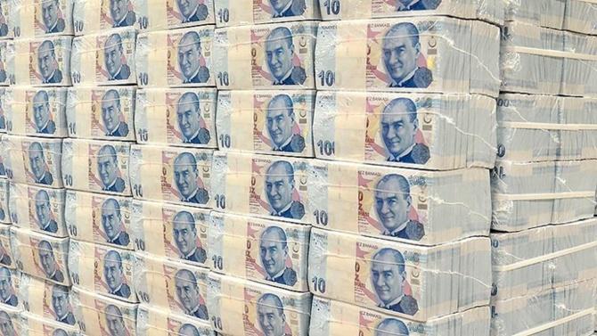 Merkezi yönetim brüt borç stoku 1 trilyon 162,4 milyar lira
