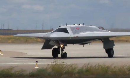 Rusya'nın 'avcı drone'undan yeni görüntü