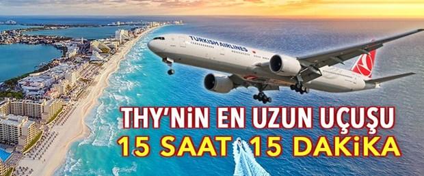 THY'nin Mexico City uçuşları başladı (İstanbul'dan 15 saat 15 dakika)