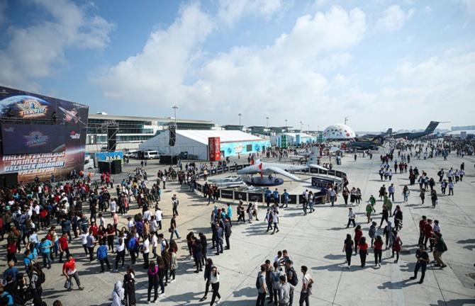 Atatürk Havalimanı'nda Teknofest heyecanı başladı