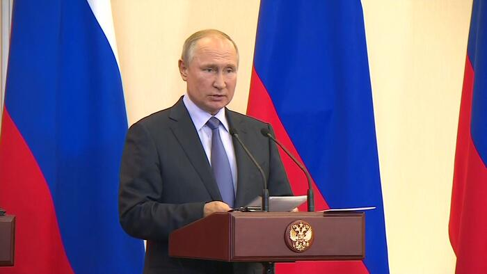 Cumhurbaşkanı Erdoğan ve Putin'den Soçi'de kritik görüşme