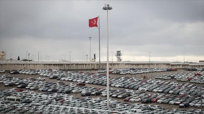 Otomotiv ihracatı ekimde 2,8 milyar dolara geriledi