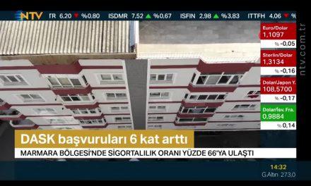 DASK başvuruları 6 kat arttı (Marmara'da sigortalılık oranı yüzde 66'ya ulaştı)