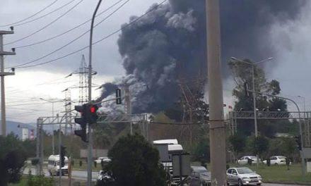 İskenderun Demir Çelik Fabrikası'nda patlama !