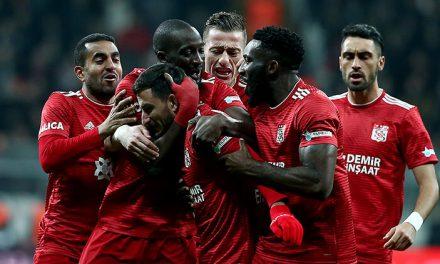 Beşiktaş 1-2 Sivasspor