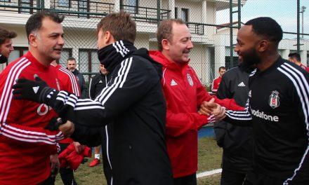 Sergen Yalçın, Beşiktaş'ta ilk idmanına çıktı
