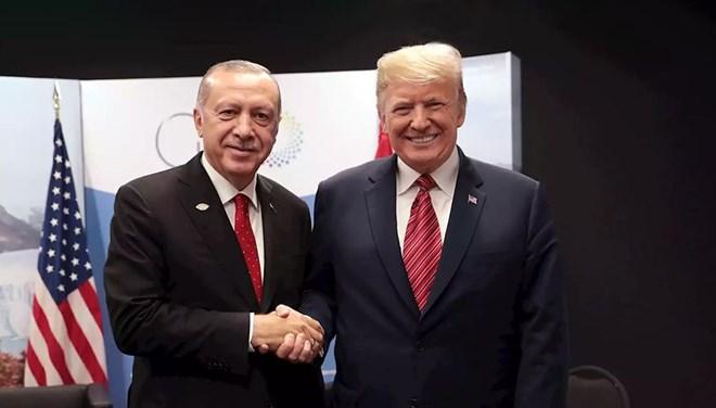 Cumhurbaşkanı Erdoğan, ABD Başkanı Trump ile görüştü