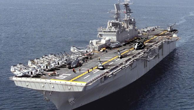 ABD Amfibi gemisi 2 bin askerle Ortadoğu'ya gidiyor