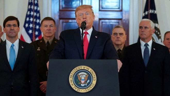 ABD Başkanı Trump: Saldırıda hiçbir ABD'li zarar görmemiştir