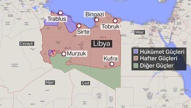 Libya'da ateşkes bıçak sırtında