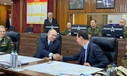 Rusya lideri Putin, Suriye'de Devlet Başkanı Beşşar Esad ile bir araya geldi