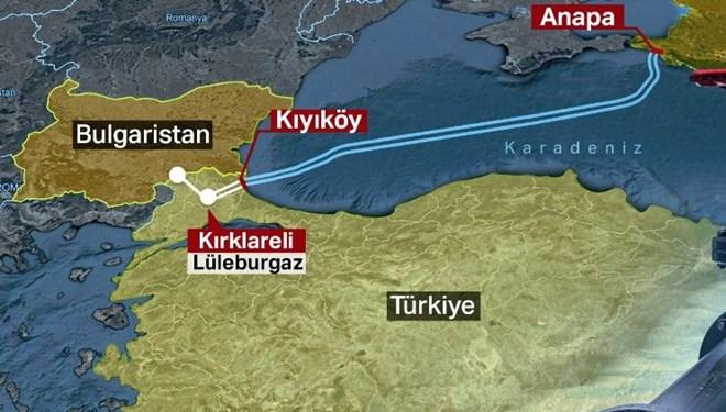 Türk Akımı doğalgaz boru hattı açıldı (TürkAkımı Hattı Projesi)