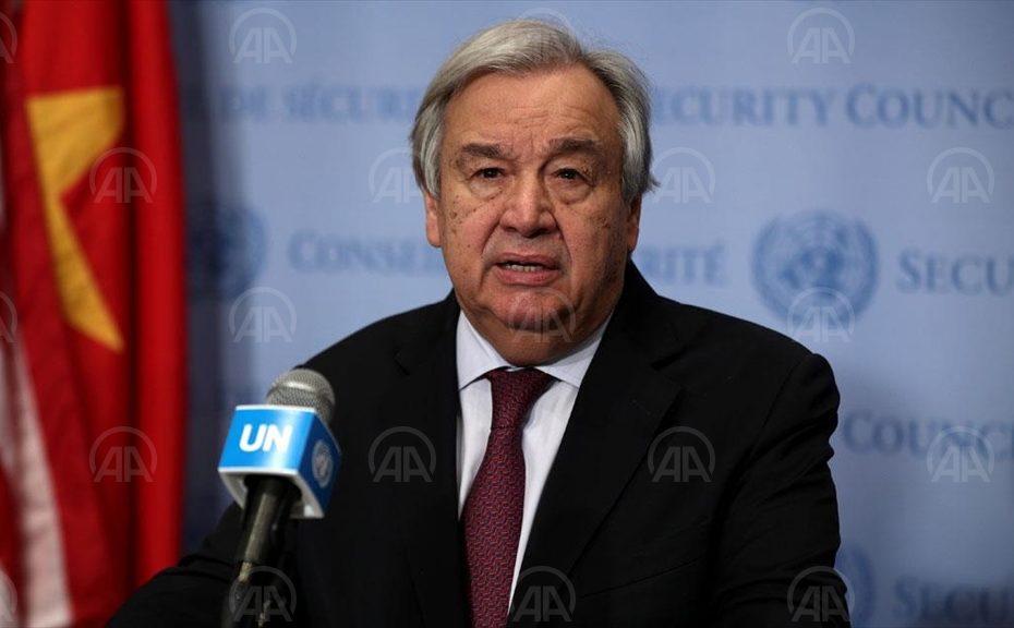 BM Genel Sekreteri Guterres'ten İdlib'de acil ateşkes çağrısı