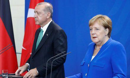 Merkel'den rejim ve destekçilerine saldırılara son verme çağrısı (Erdoğan-Merkel görüşmesi)