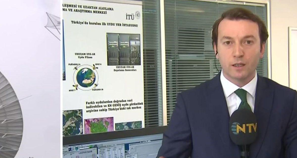 Türkiye'nin ilk uydu yer istasyonu kapılarını NTV'ye açtı
